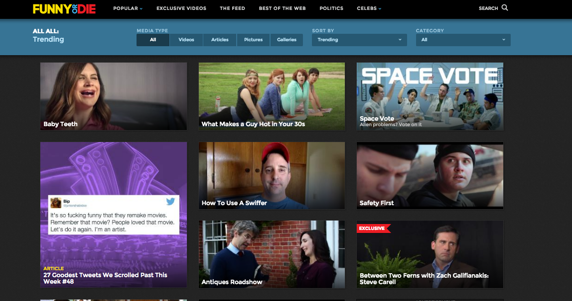"We Are Thomasse's ""Antiques Roadshow"" is trending on Funny or Die!"