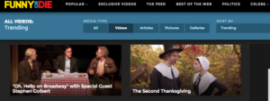 the second thanksgiving by we are thomasse trending on funny or die