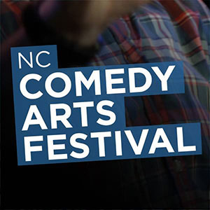 we are thomasse at the north carolina comedy arts festival